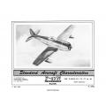 Republic F-47N Thunderbolt Standard Aircraft Characteristics 1950 $2.95