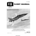 Northrop F-5E USAF Series Aircraft Flight Manual/POH 1977 - 1978 $9.95