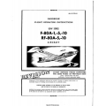 Lockheed F-80A-1, 5, 10 & RF-80A-5, 10 Aircraft Handbook Flight Operating Instructions $9.95