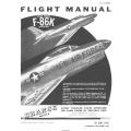 North American F-86K USAF Series Aircraft T.O. 1F-86K-1 Flight Manual/POH