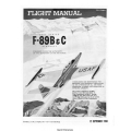 Northrop F-89B & C Scorpion USAF Series Aircraft T.O. 1F-89B-1 Flight Manual/POH 1958 $5.95