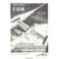 Northrop F-89H USAF Series Aircraft T.O. 1F-89H-1 Flight Manual/POH 1958 - 1959 $5.95