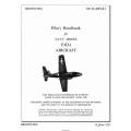 Douglas F3D-1 Skyknight Navy Model Aircraft AN 01-40FAA-1 Pilot's Handbook $4.95