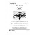 McDonnell Douglas  Navy Model F3D-2  Pilot's Flight Handbook 1952  $6.95