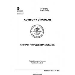 FAA AC 20-37E Aircraft Propeller Maintenance 2005