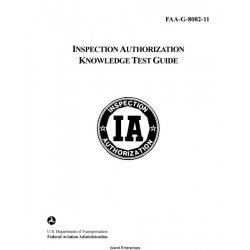 FAA-G-8082-11 Inspection Authorization Knowledge Test Guide 1999