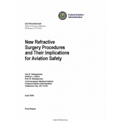 FAA New Refractive Surgery Procedures and Their Implications for Aviation Safety