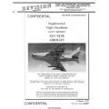 North American FJ-4 & FJ-4B Fury Navy Models Aircraft Navaer 01-60JKD-501A Supplemental Flight Handbook