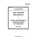 FM 1-20 Tactics and Techniques of Air Reconnaissance & Observation Field Manual