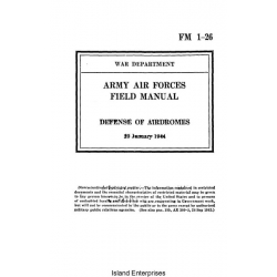 FM 1-26 Defense of Airdromes Field Manual $2.95