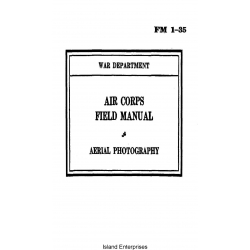 FM 1-35 Aerial Photography Air Corps Field Manual $2.95