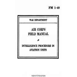 FM 1-40 Intelligence Procedure in Aviation Units Field Manual $2.95