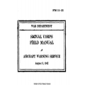 FM 11-25 Aircraft Warning Service Field Manual $2.95