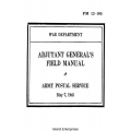FM 12-105 Army Postal Service Field Manual $2.95