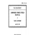 FM 17-12 Tank Gunnery Field Manual $2.95