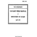 FM 2-15 Cavalry Field Manual Employment of Cavalry $2.95