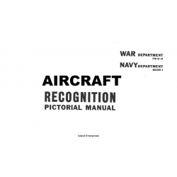 FM 30-30 and Buaer 3 Aircraft Recognition Pictorial Manual