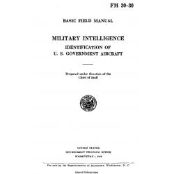 FM 30-30 Basic Field Manual Military Intelligence 1942 $ 6.95