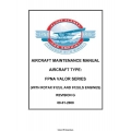 FPNA Valor Series with Rotax 912UL and 912ULS Engines Aircraft Maintenance Manual 2008 $4.95