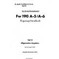 Focke-Wulf FW 190 A-5/A-6 Teil 0 Flugzeug-Handbuch 1943