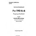 FW 190 A-6 Teil 8A Flugzeug-Handbuch $4.95