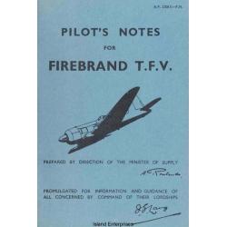 Blackburn Firebrand T.F.V Pilots Notes