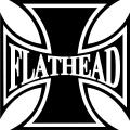 "Flathead Iron Cross Helmet/Tank Decals/Stickers 3""x3"""