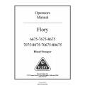 Flory 75 Series Diesel Sweeper Operators Manual 2007