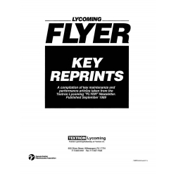 Lycoming FLYER $8.95