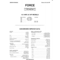 Force 4.0hp thru 15hp Outboard Motor Service Manual 1984 - 1989 $5.95