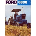 Ford 6600 Tractor Instructions Manual