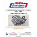 Ford Mustang 4.6L 3V Intercooled Supercharger System Installation Instructions Manual 2005 - 2009 $5.95