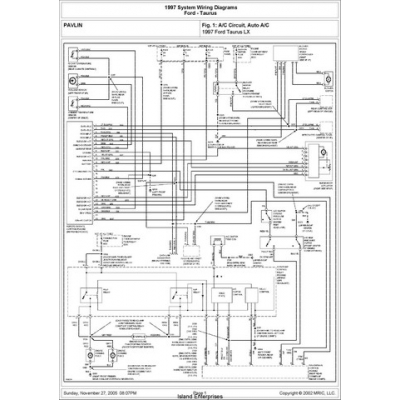 Ford Taurus Lx System Wiring Diagrams 1997 595 P 2641 on bad ford