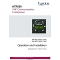 Funke ATR500 VHF Communication Transceiver Operation and Installation Manual $6.95