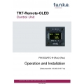 Funke TRT-Remote-OLED Control Unit Operation and Installation Manual $4.95