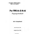 Focke-Wulf Fw 190 A-5/A-6 Teil 1 Flugzeug-Handbuch 1944