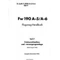 Fw 190 A-5/A-6 Teil 7 Flugzeug-Handbuch $4.95