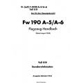 Fw 190 A-5/A-6 Teil 8D Flugzeug-Handbuch $4.95