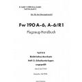 Fw 190 A-6, A-6/R1 Teil 9B Flugzeug-Handbuch $4.95