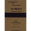 Fw 190 D-9 Teil 8A Flugzeug-Handbuch $4.95
