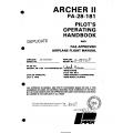 Piper Archer II PA-28-181 Pilot's Operating Handbook and Flight Manual 1979  $13.95