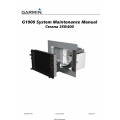 Garmin G1000-Cessna 350/400 System Maintenance Manual $19.95