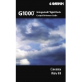 Cessna Nav III G1000 Integrated Flight Deck Cockpit Reference Guide $29.95