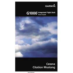 Garmin G1000 Cessna Citation Mustang Pilot's Guide $29.95
