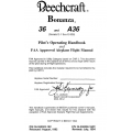 Beechcraft Bonanza 36 and A36 Serials (E-1 thru E-926) Pilot's Operating Handbook & FAA Approved Airplane Flight Manual (36-59002-19C) (36-590002-19C3)