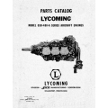 Lycoming Parts Catalog GSO-480-A Series $13.95