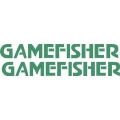 "Gamefisher 2 Boat Sticker/Decal Vinyl Graphic 12"" wide by 1.45"" high"