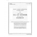 Waco CG-4A Glider Operating Instruction British Model Hadrian $6.95