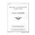 Waco CG-4A Glider 1943 Erection and Maintenance Instruction  $12.95