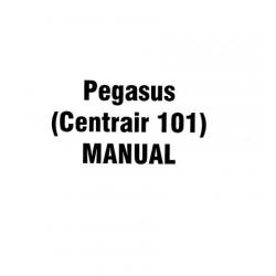 Gliders Pegasus Centrair 101, 101P, 101A, 101AP Flight Manual/POH 1983 $4.95
